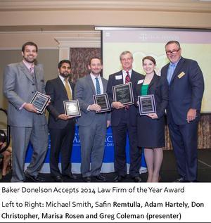 Baker Donelson Award