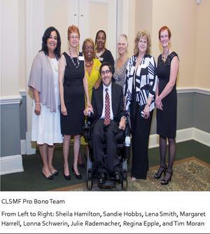 CLSMF Pro Bono Team Caption 2